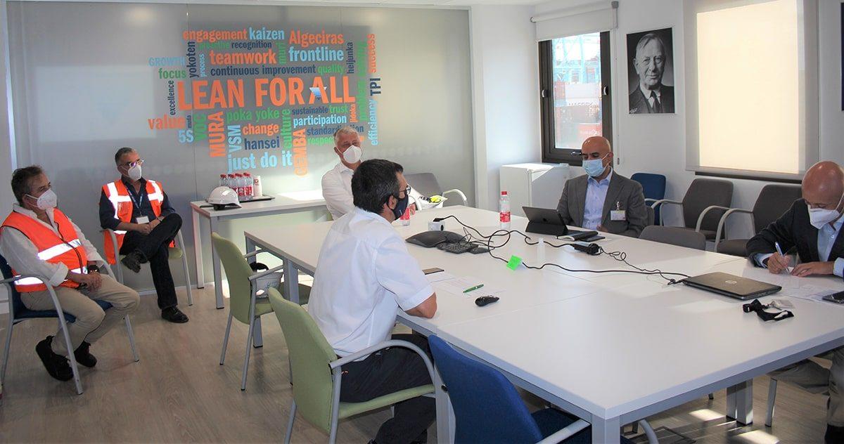 """La jornada se ha organizado en las terminales de APM  Algeciras, Valencia, Barcelona, Castellón y Gijón bajo el lema """"We lead with care"""""""