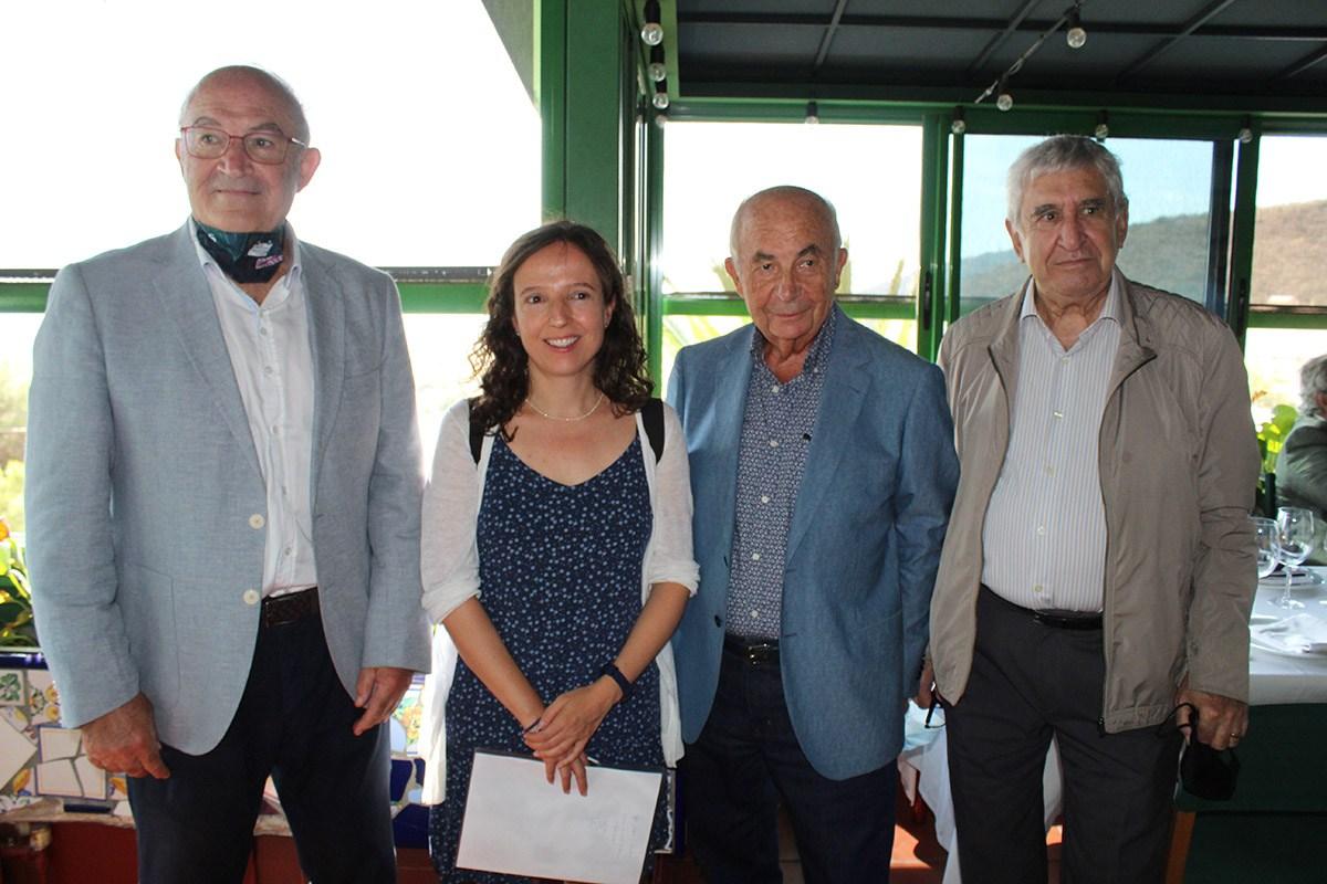 Asistentes al reencuentro del Club del Transitario Marítimo de Barcelona