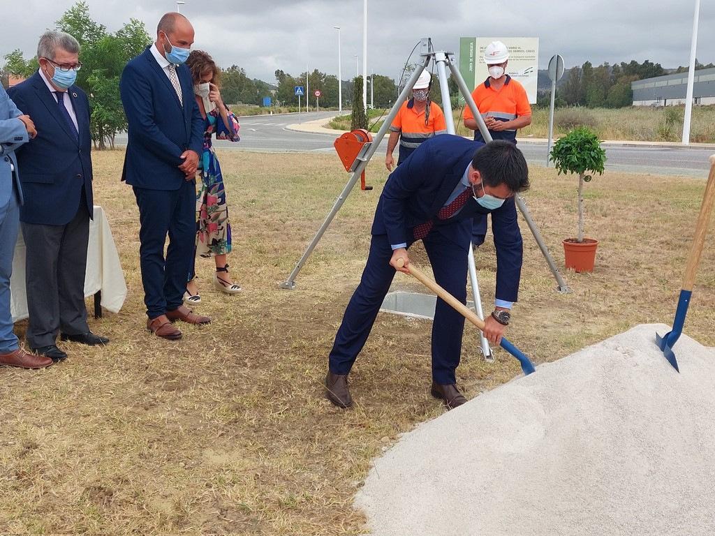 Imágenes del inicio de las obras del Recinto Fiscal Bahía de Algeciras que estará operativo en el primer trimestre del 2022