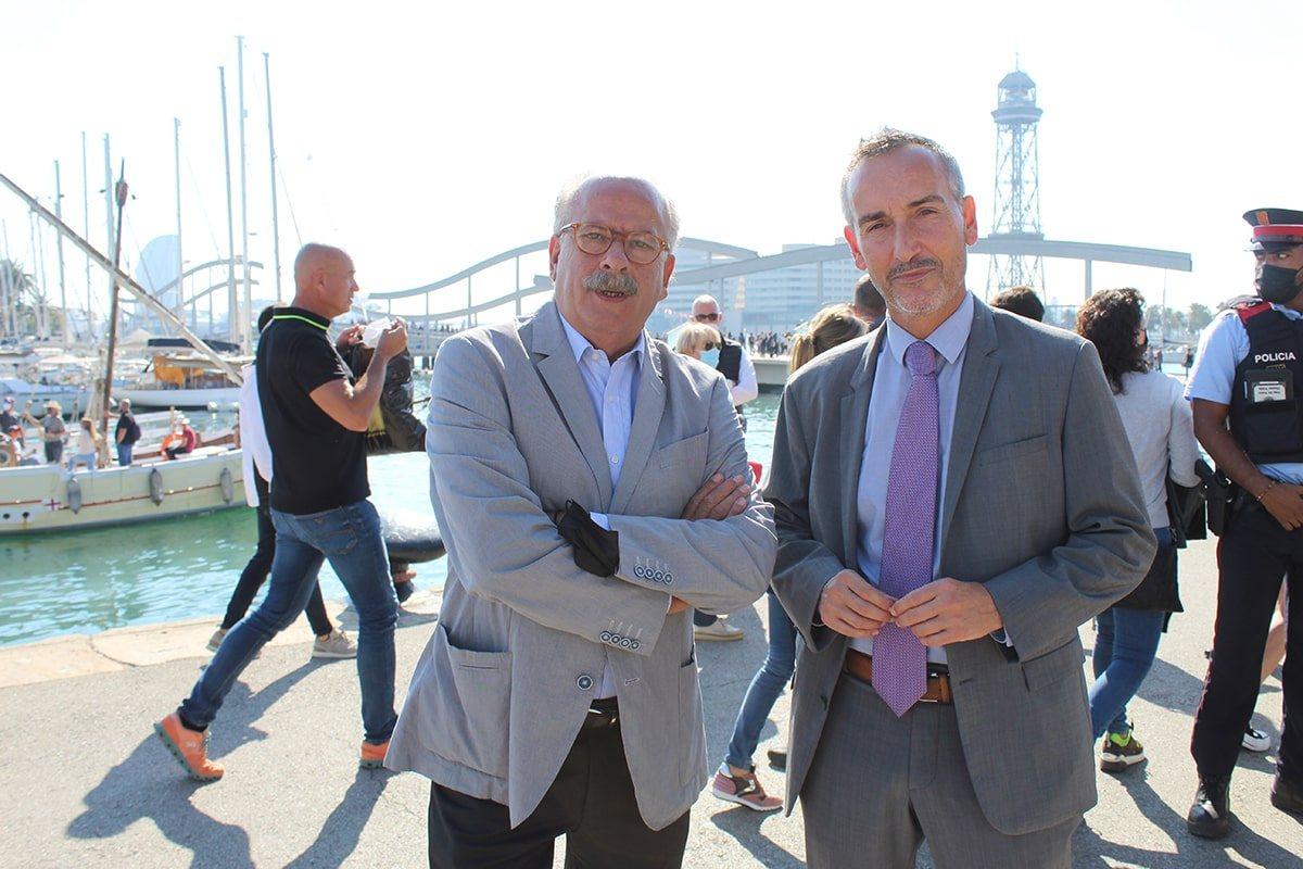 La inauguración del salón fue una demostración del apoyo del Gobierno catalán al sector de la náutica