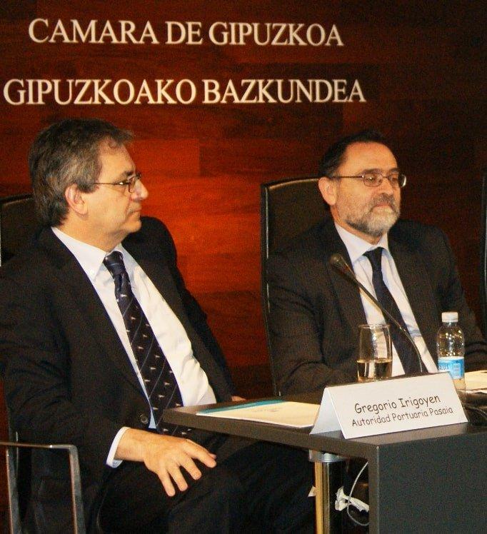 Gregorio Irigoyen y César Salvador