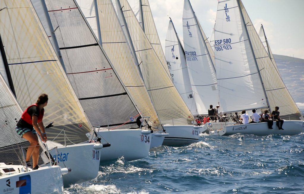 El Mundial J80 se dirime en Getxo del 13 al 20 de julio