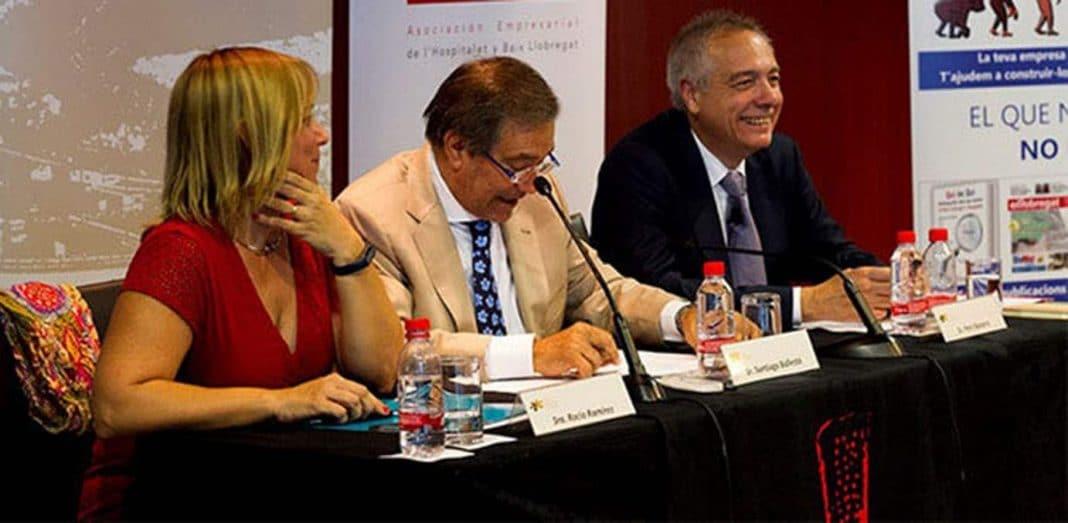 Pere Navarro participo desayuno Forum Empresarial del Llobregat