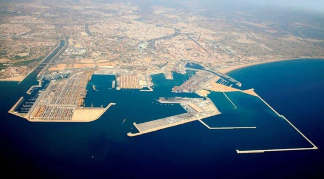 puerto valencia vista aerea