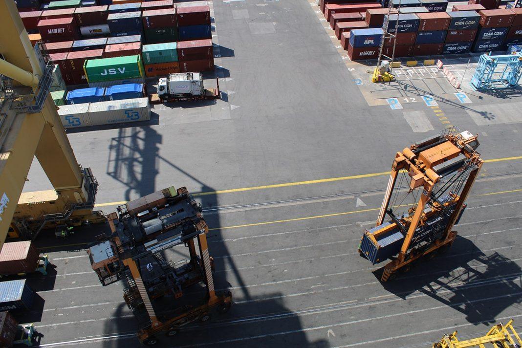 tráfico puertos españoles