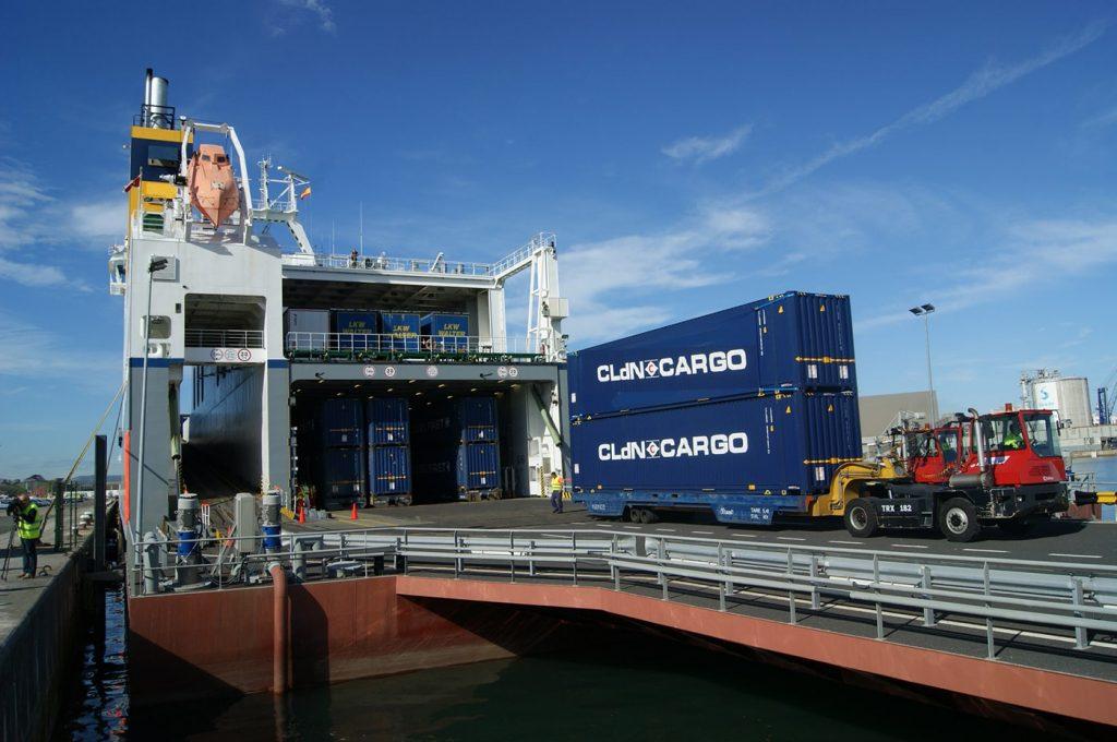 CLdN en el puerto de Santander