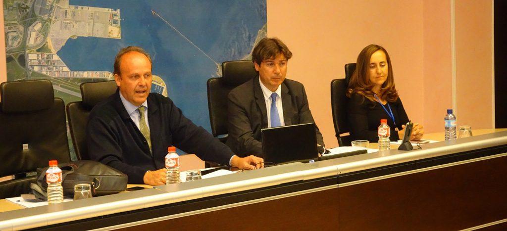 Alejandro Huergo, Jaime González y Cristina López