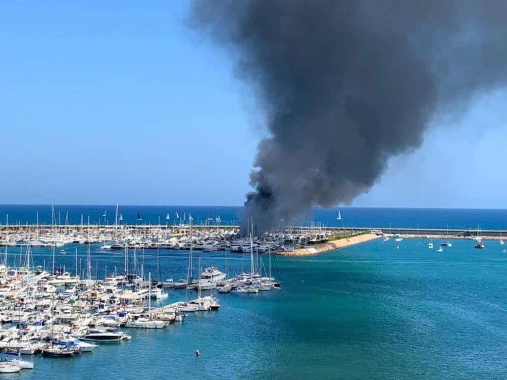 Incendio Marina Salinas