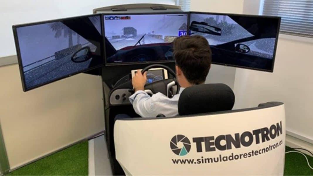 simulador conducción1 min