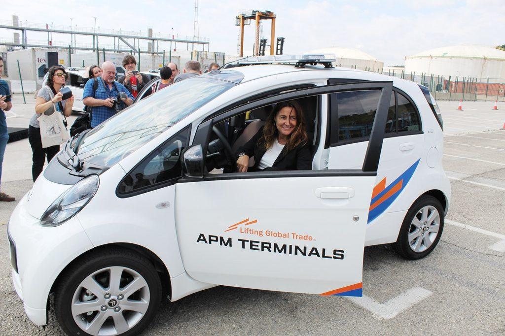 APM Terminals Barcelona vehículos eléctricos