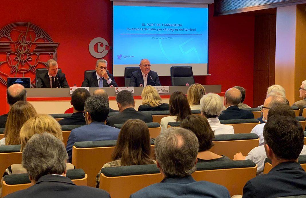 presidente del puerto del Tarragona camara comercio reus min