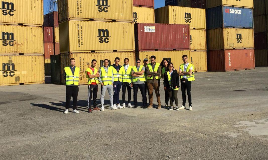 Visita estudiantes puerto de almeria min