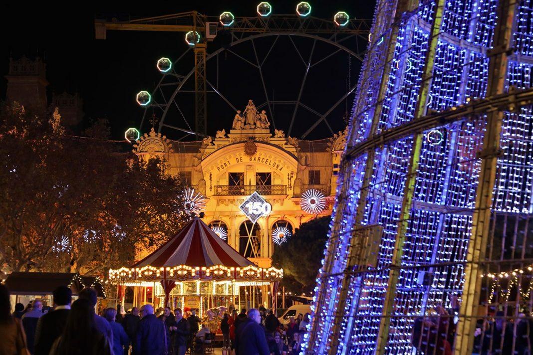 Fira de Nadal puerto de barcelona min