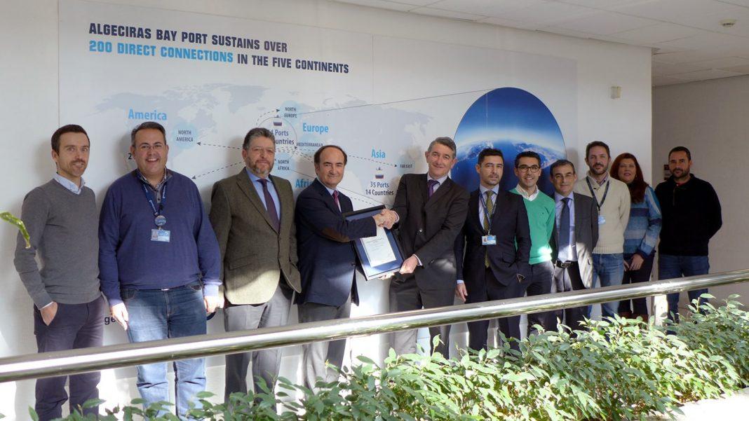 Certificado AENOR Innovación puerto de algeciras min
