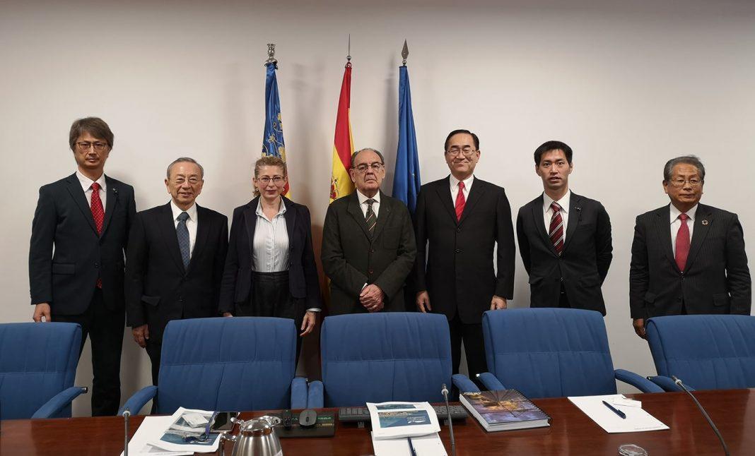 visita delegacion japon puerto de valencia min