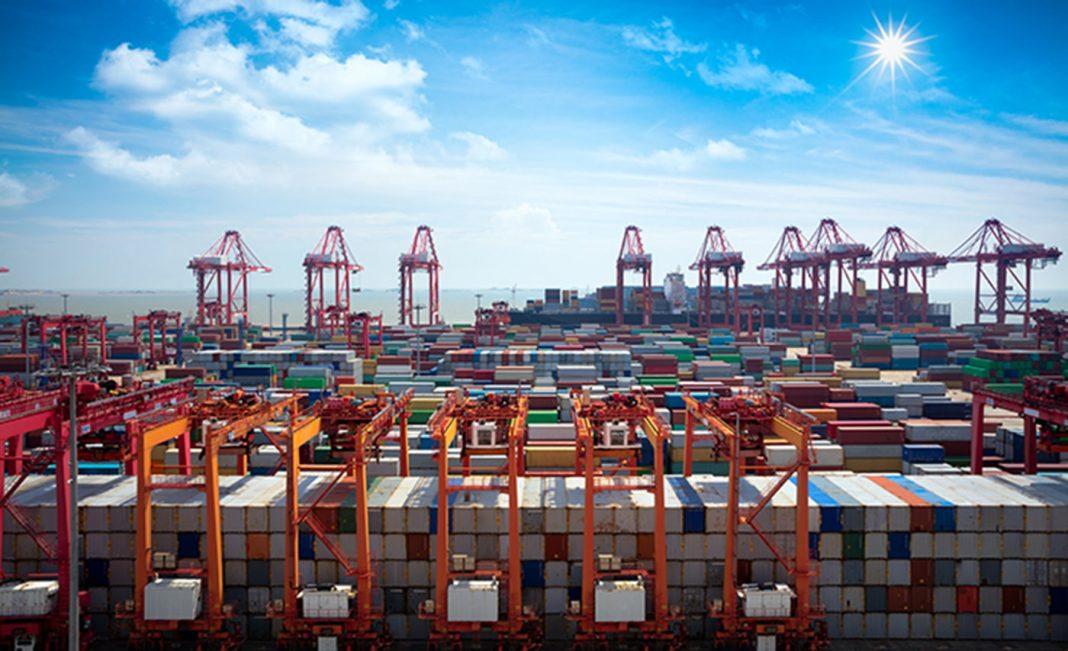 puertos chinos shanghai min