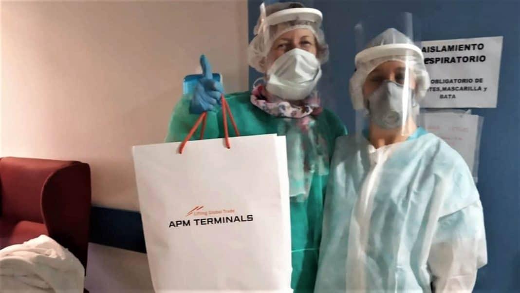 apm terminals gibraltar solidaridad contra el covid 19 min