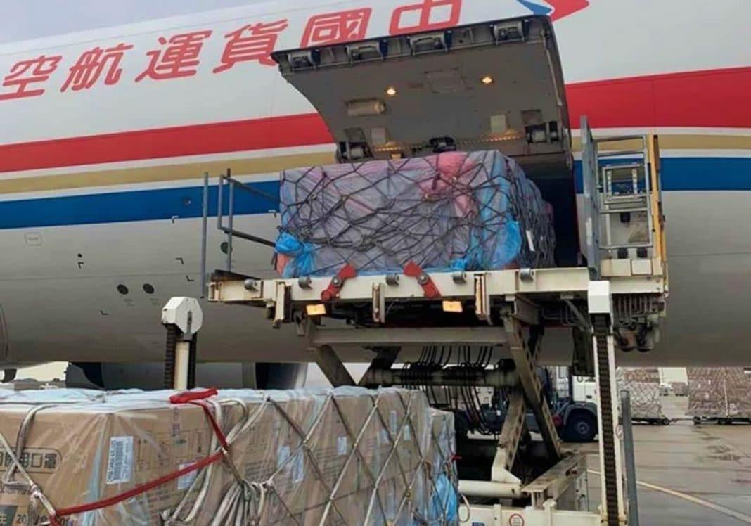 el transporte aereo de mercancia es prioritario en la lucha contra el coronavirus min