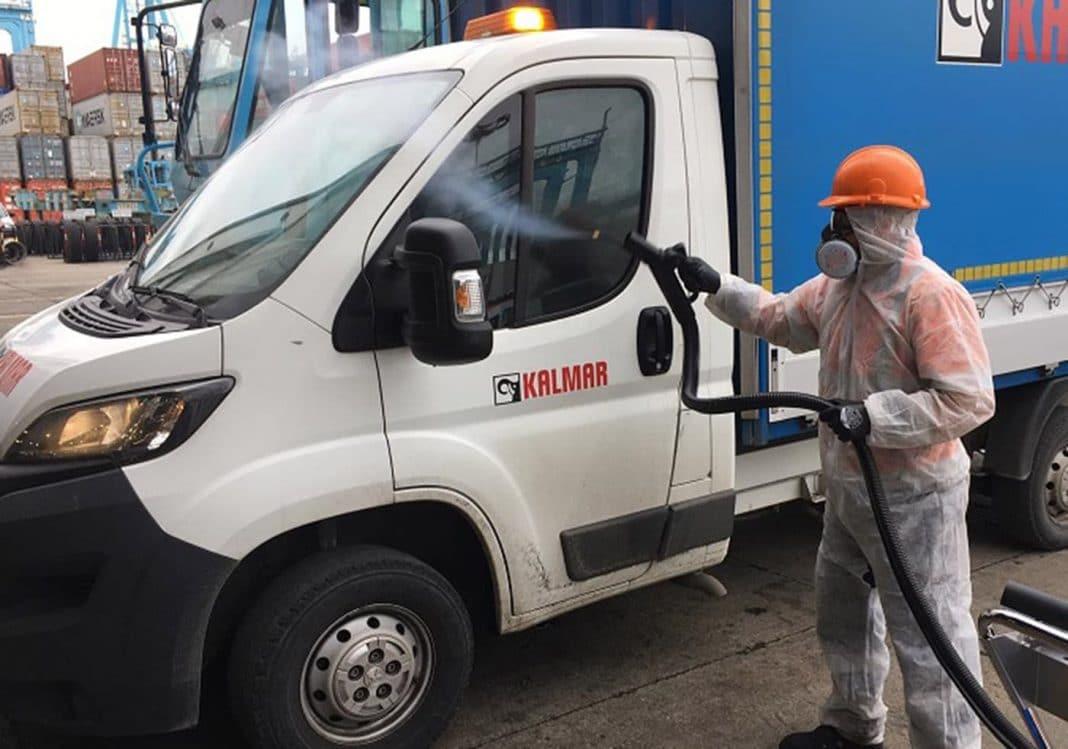 apm terminals algeciras invertira mas de cuarenta mil euros en ozonizadores para desinfectar la terminal de contenedores
