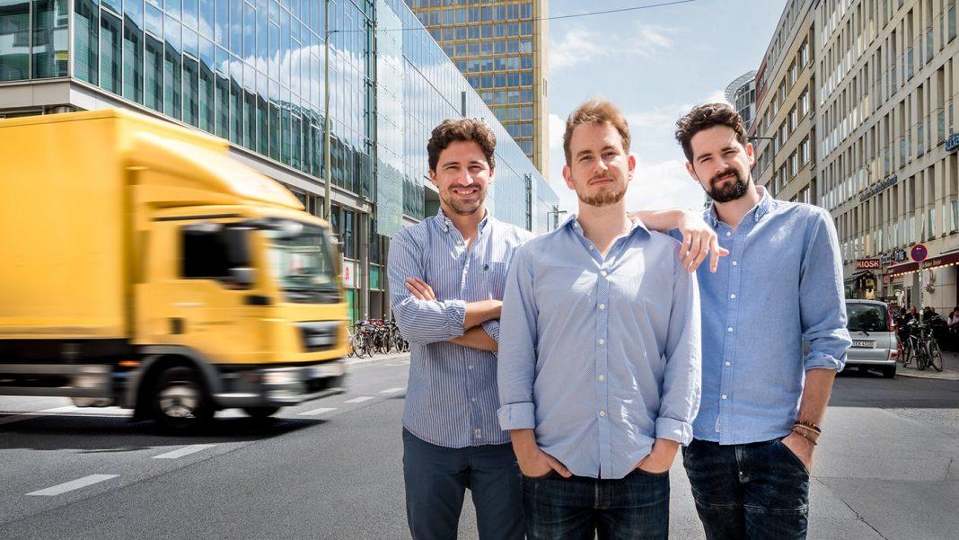 Luis Bardají Gabor Balogh y Ramón Castro fundadores de Trucksters 2 min