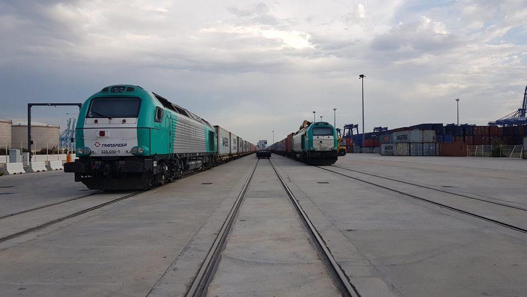 Ferrocarril puerto de algeciras