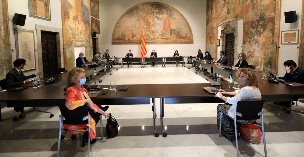 consejo ejecutivo gobierno catalan nuevos accesos