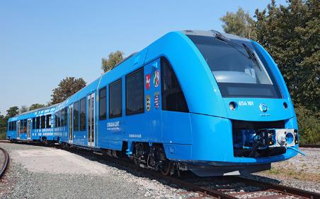 hidrogeno en trenes