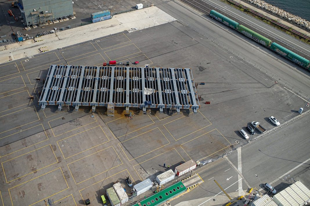 project cargo URSSA puerto de taragona min