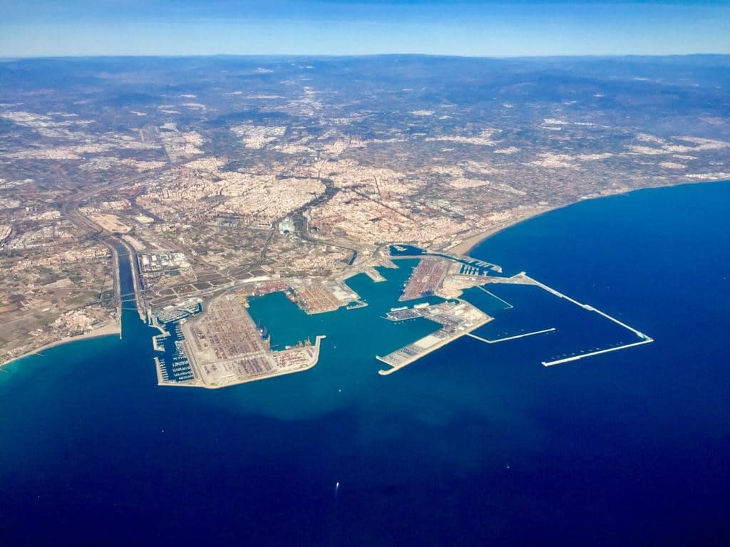 puerto de valencia emisiones