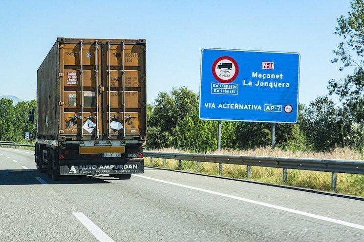 restricciones camiones catalunya