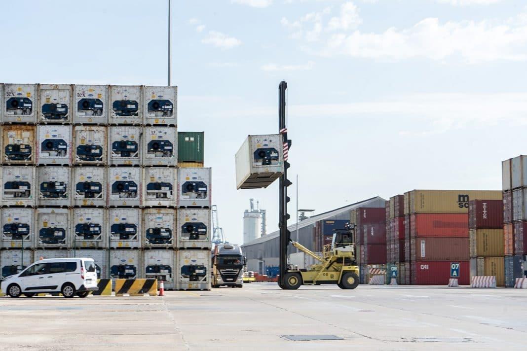 trafico puerto de valencia