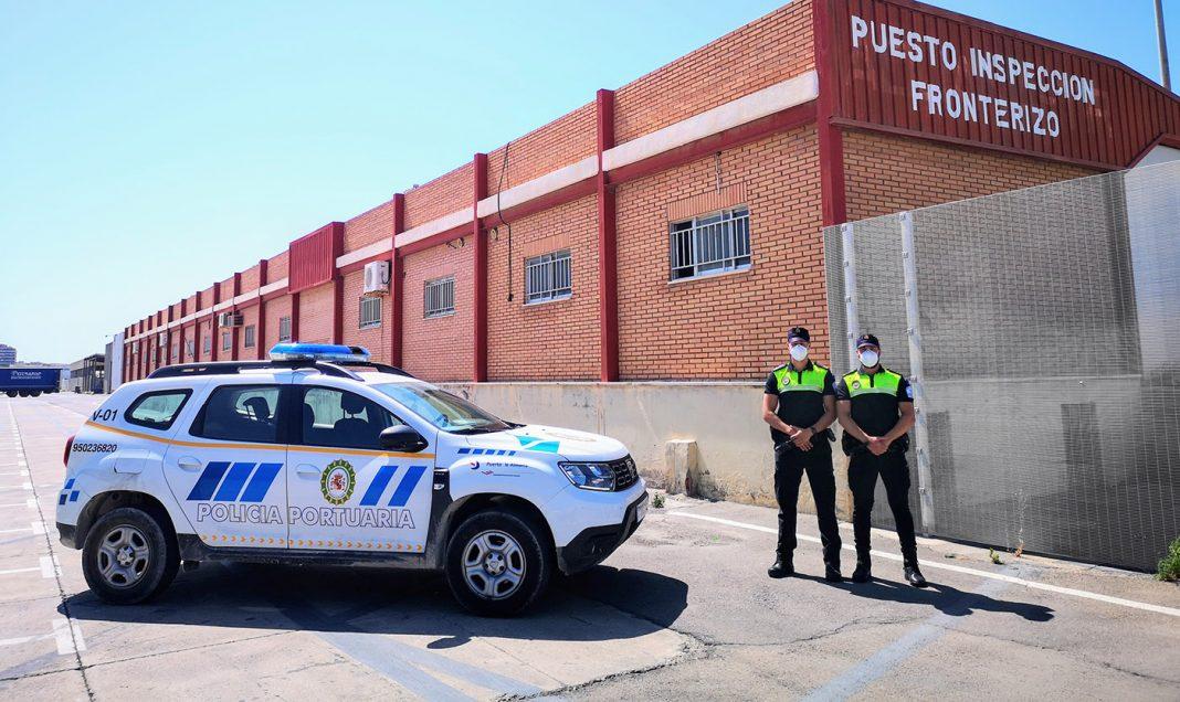 edificio policial puerto de almeria