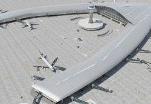 terminal satelite aeropuerto de barcelona
