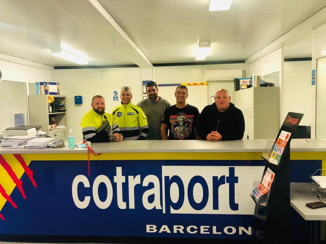 transportistas autonomos puerto de barcelona