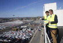 trafico del puerto de santander