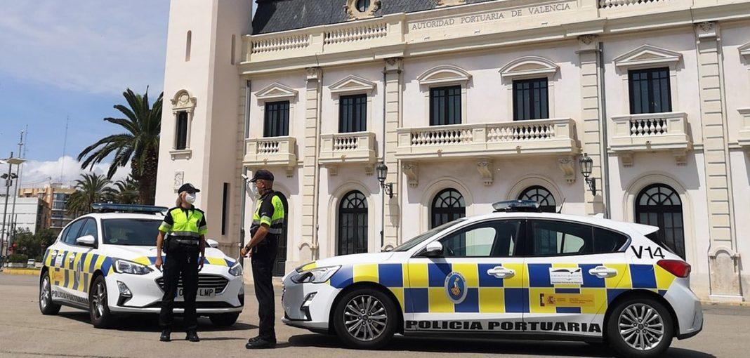 Policia portuaria puerto de Valencia