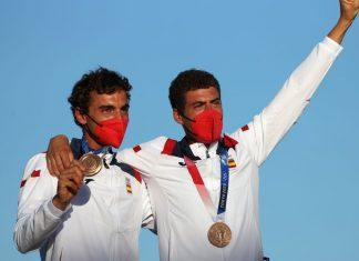 Jordi Xammar y Nicolás Rodríguez, medalla de bronce en Tokyo 2020