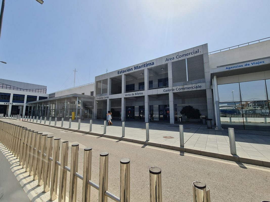 Estacion maritima puerto de algeciras