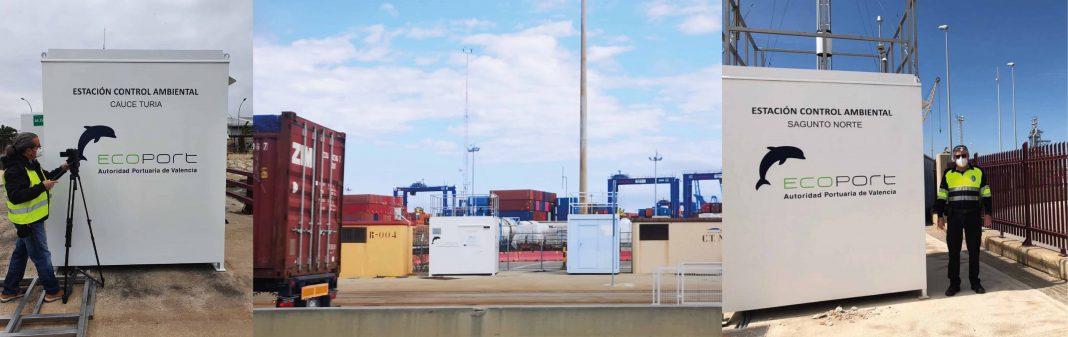 El puerto de Valencia muestra en tiempo real la calidad del aire